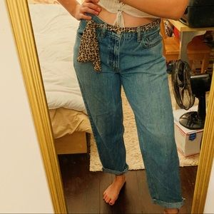 Levi's Straight Leg Blue Jeans Loose Fit